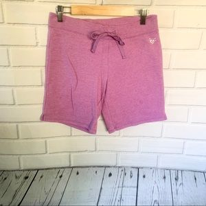 JUSTICE. Purple shorts. Size 14